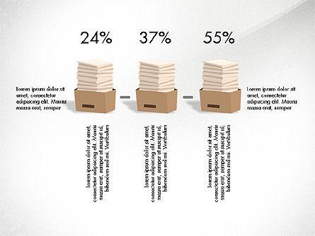 Startup Project Presentation Deck, Slide 8, 03901, Presentation Templates — PoweredTemplate.com