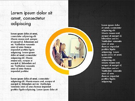 Presentation Concept with Photos, Slide 11, 03902, Presentation Templates — PoweredTemplate.com