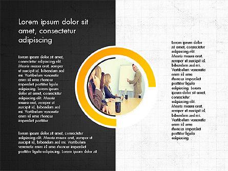 Presentation Concept with Photos, Slide 3, 03902, Presentation Templates — PoweredTemplate.com