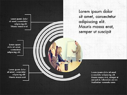 Presentation Concept with Photos, Slide 9, 03902, Presentation Templates — PoweredTemplate.com