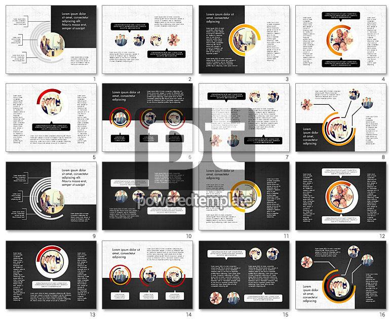 Presentation Concept with Photos