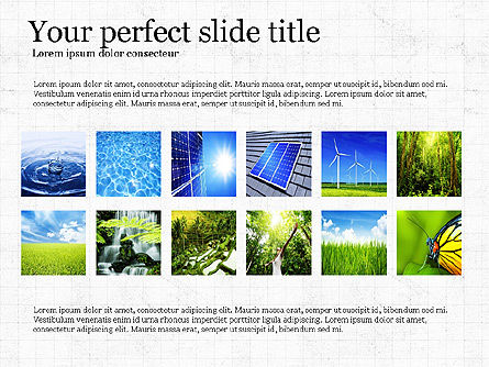 Sustainability Presentation Concept, 03903, Presentation Templates — PoweredTemplate.com