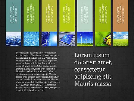Sustainability Presentation Concept, Slide 11, 03903, Presentation Templates — PoweredTemplate.com