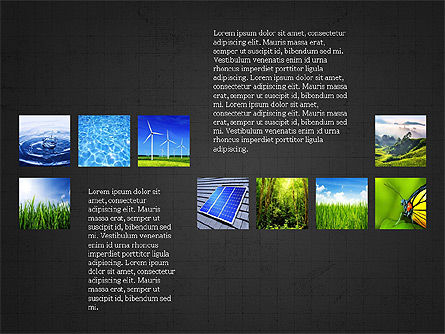 Sustainability Presentation Concept, Slide 13, 03903, Presentation Templates — PoweredTemplate.com