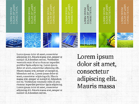 Sustainability Presentation Concept, Slide 3, 03903, Presentation Templates — PoweredTemplate.com