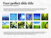 Presentation Templates: Concept de présentation de la durabilité #03903