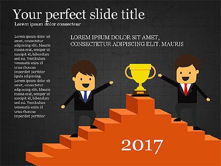 Winning Strategy Concept Presentation, Slide 9, 03905, Presentation Templates — PoweredTemplate.com