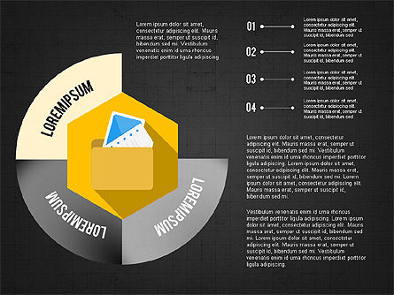Document Management Concept Presentation Infographic, Slide 12, 03906, Infographics — PoweredTemplate.com