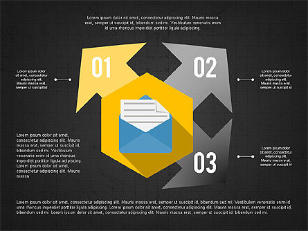 Document Management Concept Presentation Infographic, Slide 16, 03906, Infographics — PoweredTemplate.com
