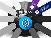 Business Process Stages Presentation Concept#2