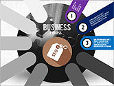 Business Process Stages Presentation Concept#3