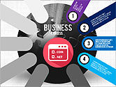 Business Process Stages Presentation Concept#4