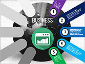 Business Process Stages Presentation Concept#5