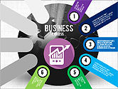 Business Process Stages Presentation Concept#6