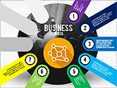 Business Process Stages Presentation Concept#7