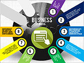 Business Process Stages Presentation Concept#8
