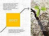 Timelines & Calendars: 시작 마일스톤 프레젠테이션 데크 #03912