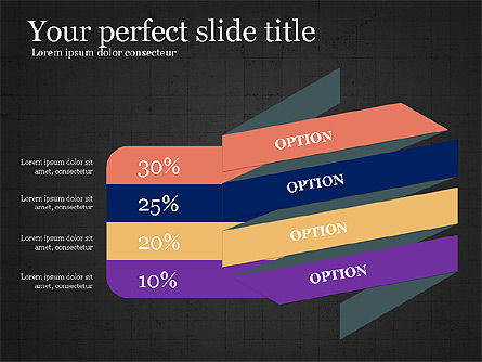 Options and Infographics, Slide 12, 03913, Infographics — PoweredTemplate.com