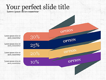 Options and Infographics, Slide 4, 03913, Infographics — PoweredTemplate.com