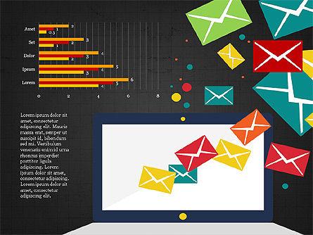 Email Marketing Presentation Concept, Slide 14, 03915, Presentation Templates — PoweredTemplate.com