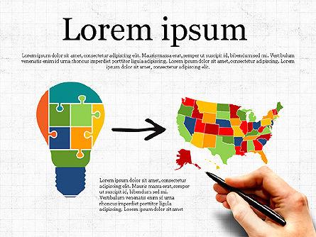 Email Marketing Presentation Concept, Slide 2, 03915, Presentation Templates — PoweredTemplate.com