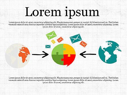 Email Marketing Presentation Concept, Slide 3, 03915, Presentation Templates — PoweredTemplate.com