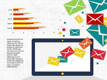 Email Marketing Presentation Concept, Slide 6, 03915, Presentation Templates — PoweredTemplate.com