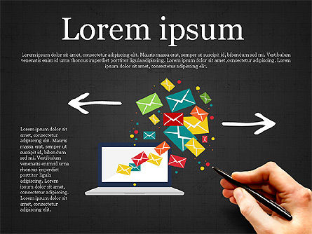 Email Marketing Presentation Concept, Slide 9, 03915, Presentation Templates — PoweredTemplate.com