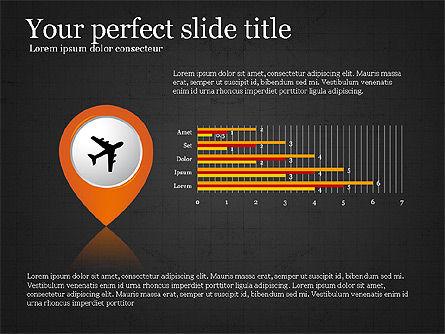 Road Travel Presentation Diagrams, Slide 11, 03916, Infographics — PoweredTemplate.com