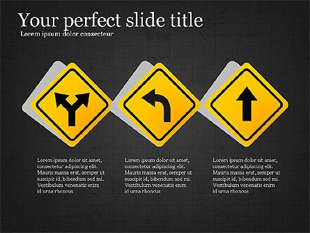 Road Travel Presentation Diagrams, Slide 15, 03916, Infographics — PoweredTemplate.com