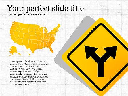 Road Travel Presentation Diagrams, Slide 5, 03916, Infographics — PoweredTemplate.com