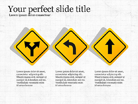 Road Travel Presentation Diagrams, Slide 7, 03916, Infographics — PoweredTemplate.com