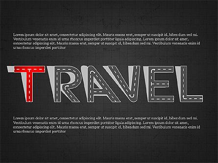 Road Travel Presentation Diagrams, Slide 9, 03916, Infographics — PoweredTemplate.com