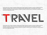 Infographics: Road Travel Presentation Diagrams #03916