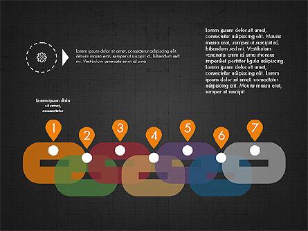 Process Options and Stages Slide Deck, Slide 14, 03919, Timelines & Calendars — PoweredTemplate.com