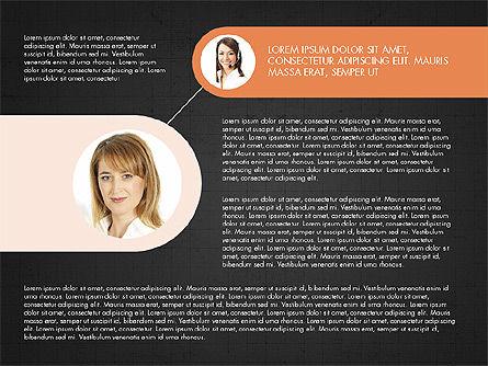 Business Relationships Presentation Concept, Slide 10, 03920, Business Models — PoweredTemplate.com