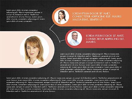 Business Relationships Presentation Concept, Slide 11, 03920, Business Models — PoweredTemplate.com