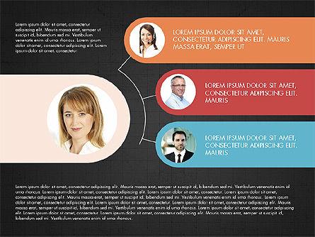 Business Relationships Presentation Concept, Slide 12, 03920, Business Models — PoweredTemplate.com