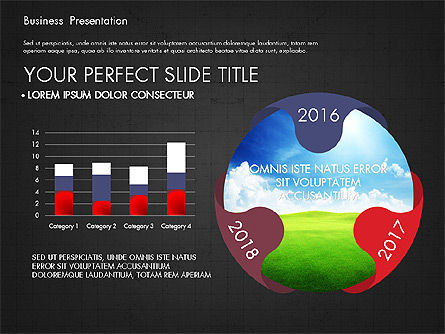 Infographics Slides, Slide 13, 03921, Infographics — PoweredTemplate.com