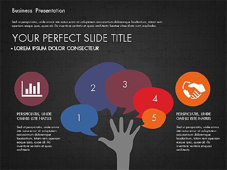 Infographics Slides, Slide 14, 03921, Infographics — PoweredTemplate.com