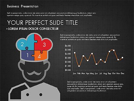 Infographics Slides, Slide 15, 03921, Infographics — PoweredTemplate.com