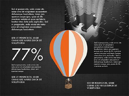 Infographics Slides, Slide 16, 03921, Infographics — PoweredTemplate.com