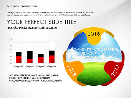 Infographics Slides, Slide 5, 03921, Infographics — PoweredTemplate.com