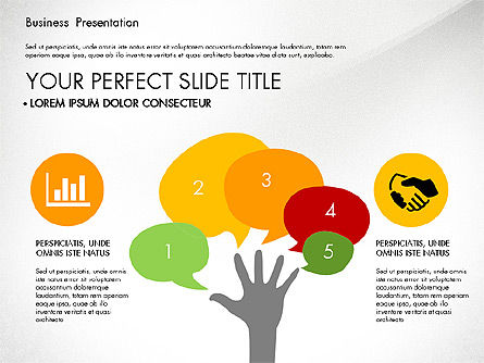Infographics Slides, Slide 6, 03921, Infographics — PoweredTemplate.com