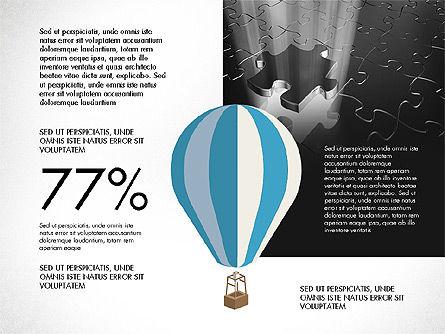 Infographics Slides, Slide 8, 03921, Infographics — PoweredTemplate.com