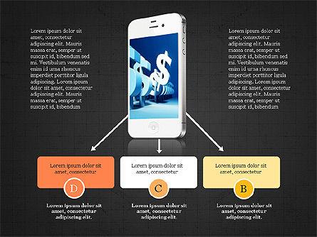 Mobile Finance App Presentation Template, Slide 11, 03923, Presentation Templates — PoweredTemplate.com