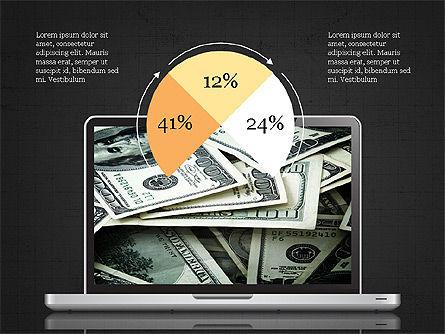 Mobile Finance App Presentation Template, Slide 15, 03923, Presentation Templates — PoweredTemplate.com