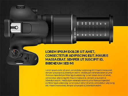 Camera Infographics, Slide 12, 03924, Infographics — PoweredTemplate.com