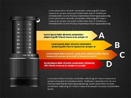 Camera Infographics, Slide 13, 03924, Infographics — PoweredTemplate.com