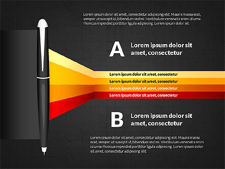 Camera Infographics, Slide 14, 03924, Infographics — PoweredTemplate.com